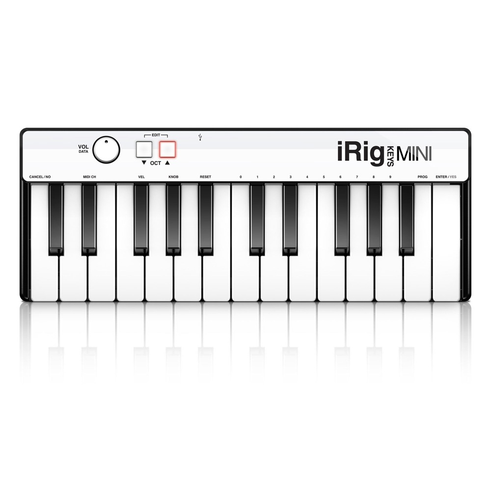 IK Multimedia iRig Keys Mini MIDIキーボード コントローラー