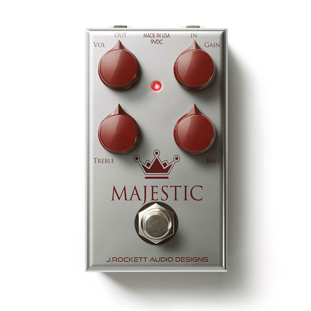 J Rockett Audio Designs (JRAD) Majestic オーバードライブ ギターエフェクター
