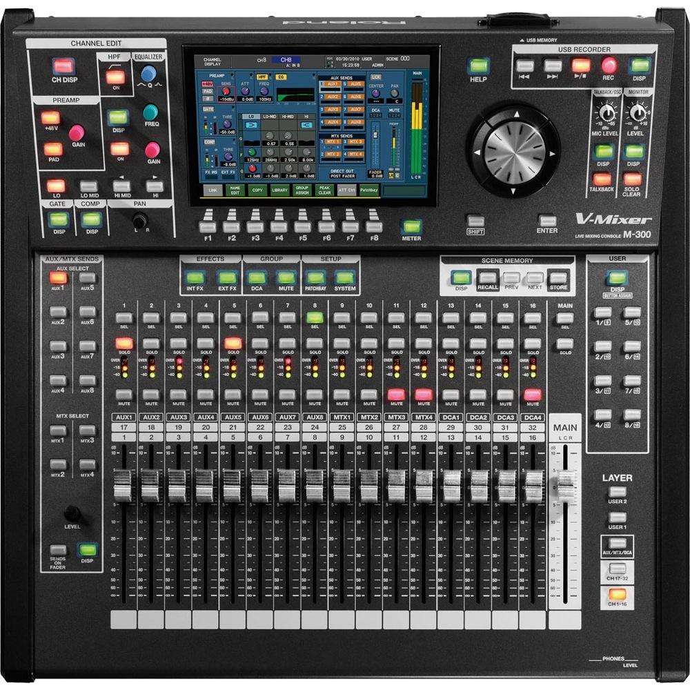 ROLAND M-300 デジタルミキサー