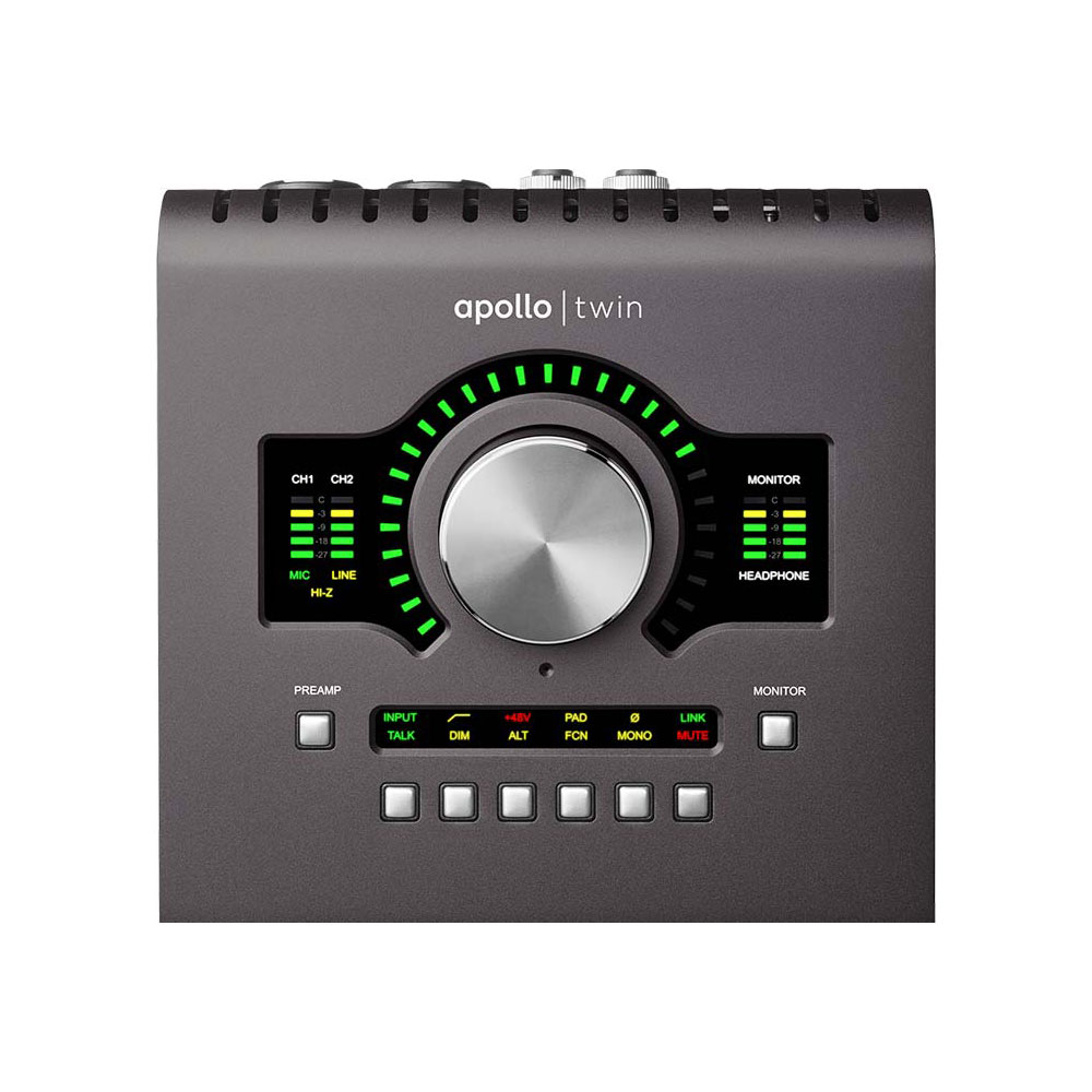 UNIVERSAL AUDIO Apollo Twin MkII QUAD Thunderboltオーディオインターフェイス