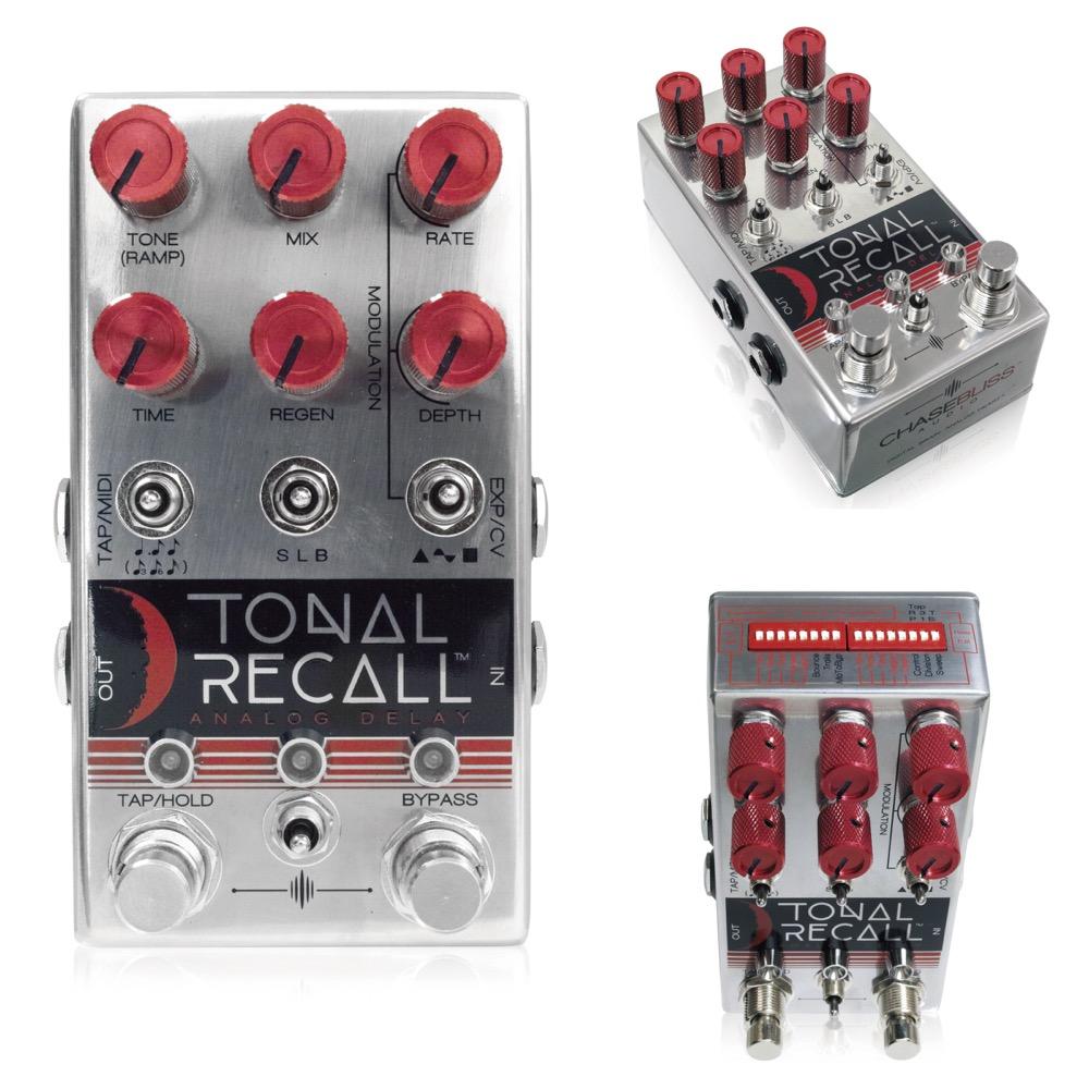 Chase Bliss Audio Tonal Recall Red Knob Mod エフェクター