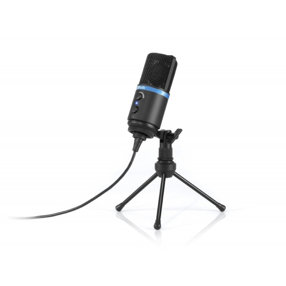 IK Multimedia iRig Mic Studio Black デジタルコンデンサーマイク iOS/Mac/Android/PC対応