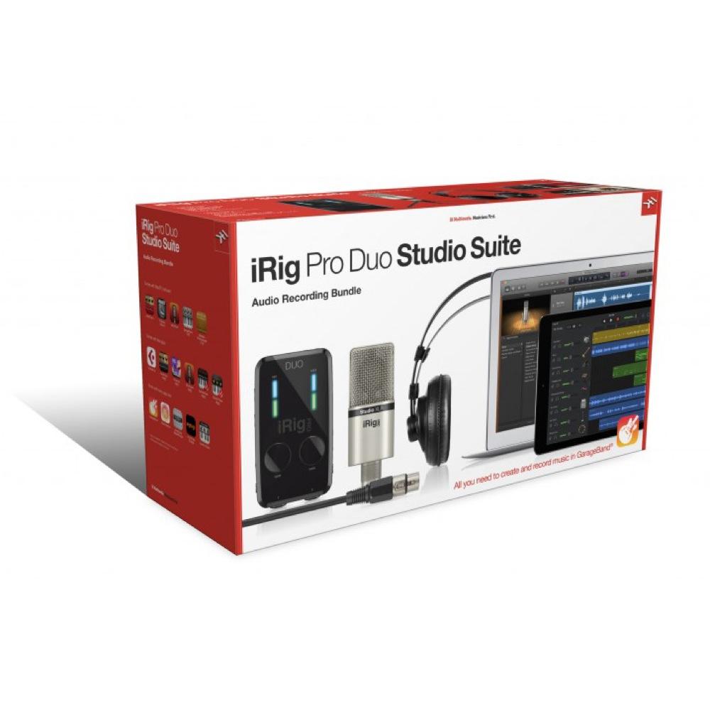 IK Multimedia iRig Pro Duo Studio Suite オールインワン ホームスタジオバンドル