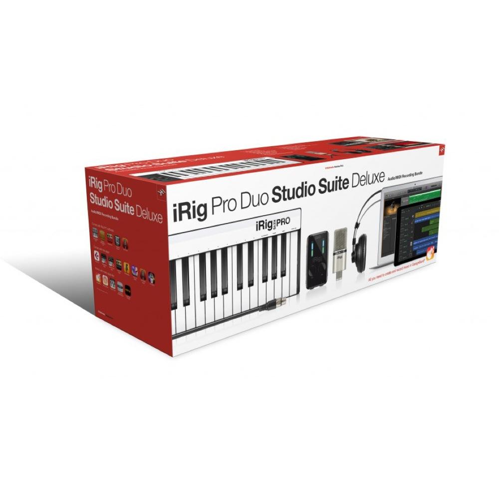 IK Multimedia iRig Pro Duo Studio Suite Deluxe オールインワン・ホームスタジオバンドル