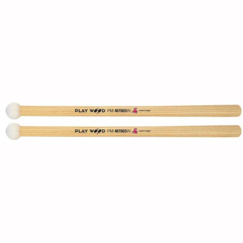 PLAY WOOD PM-M7003W マーチング テナードラム マレット