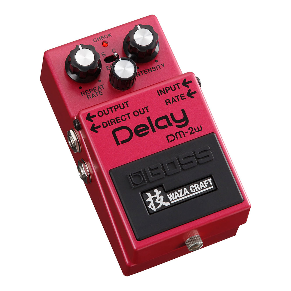 BOSS DM-2W(J) Delay WAZA CRAFTシリーズ アナログディレイ MADE IN JAPAN