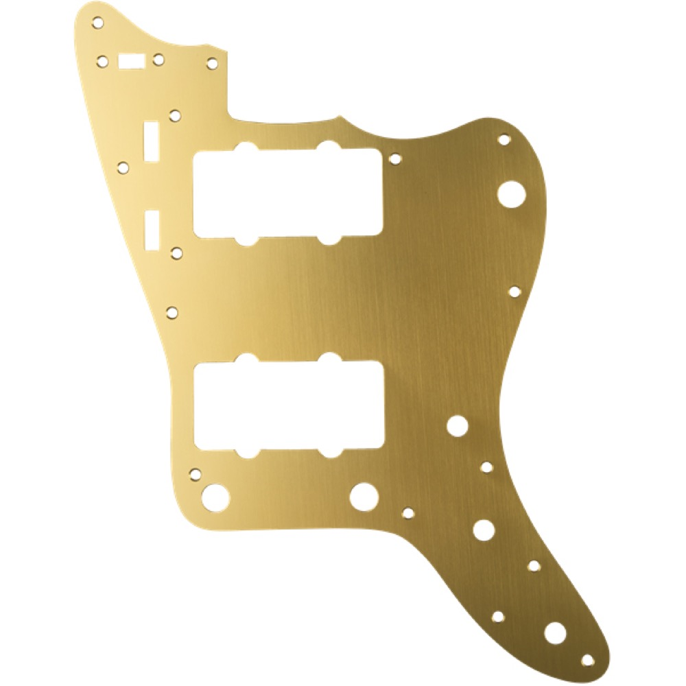 Fender Classic 60s Jazzmaster 12-Hole 1-Ply Classic Fender Gold Anodized Made Model in Japan Model Pickguard No.0991301162 フェンダー純正ピックガード, 門川町:a6a50319 --- marellicostruzioni.it