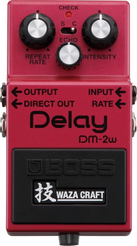 BOSS DM-2W(J) Delay WAZA CRAFTシリーズ アナログディレイ MADE IN JAPAN