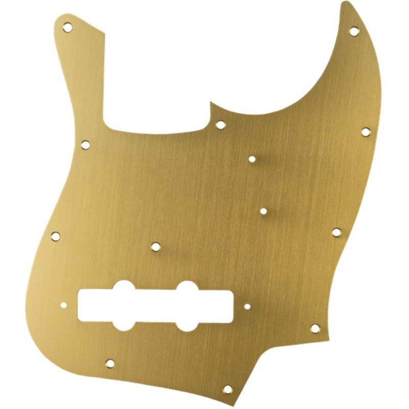 Fender Classic Model Jazz Bass in 11-Hole 1-Ply 1-Ply Gold Anodized Made in Japan Model Pickguard No.0991301165 フェンダー純正ピックガード, シーズニーズ:5dce6c6a --- ww.thecollagist.com