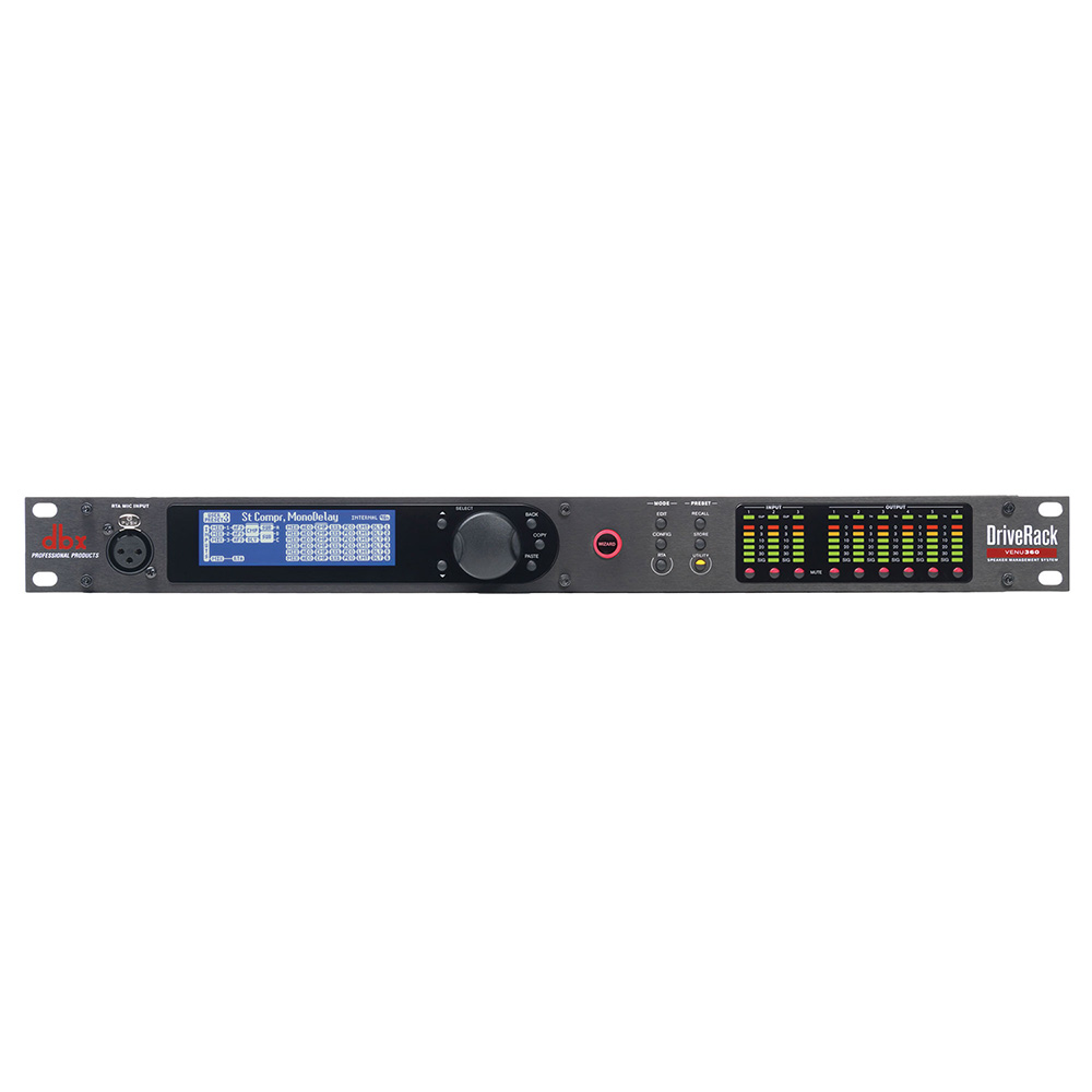 dbx DriveRack VENU360 PAプロセッサー