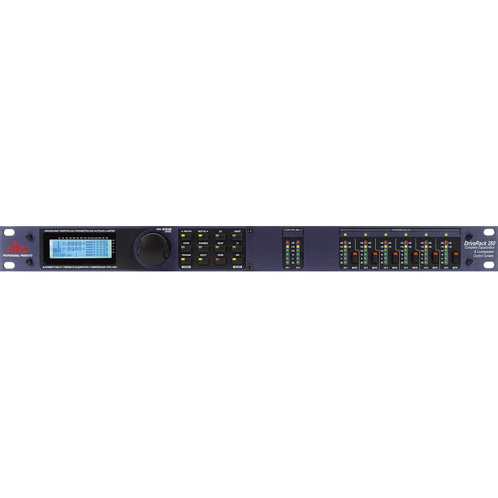 dbx DriveRack 260 マルチプロセッサー