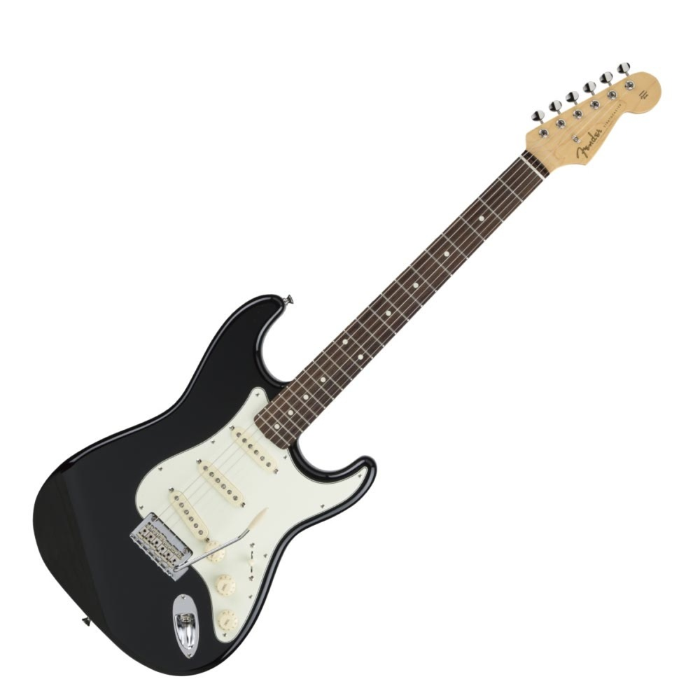 Fender Made in Japan Hybrid 60s Stratocaster Rosewood Black エレキギター