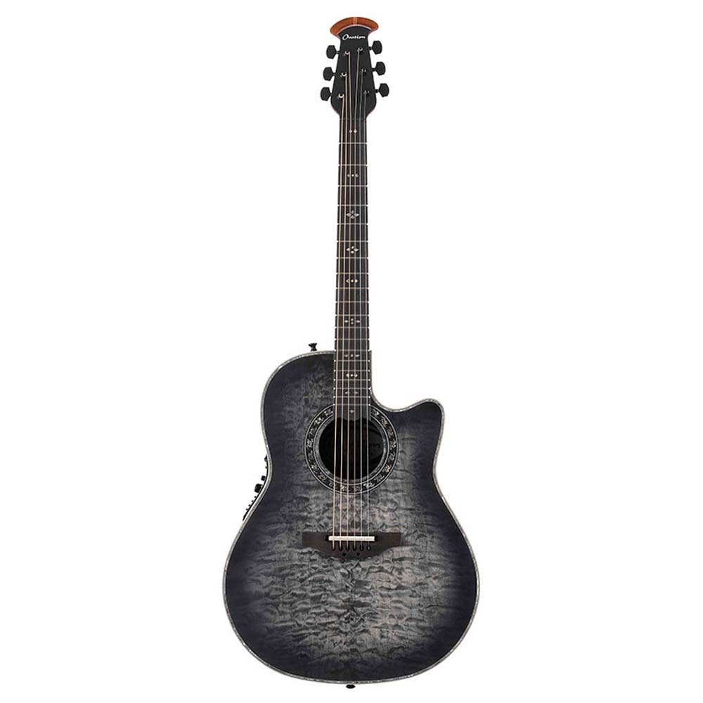 OVATION Legend Plus C2079-AXP Satin Transparent Black エレクトリックアコースティックギター