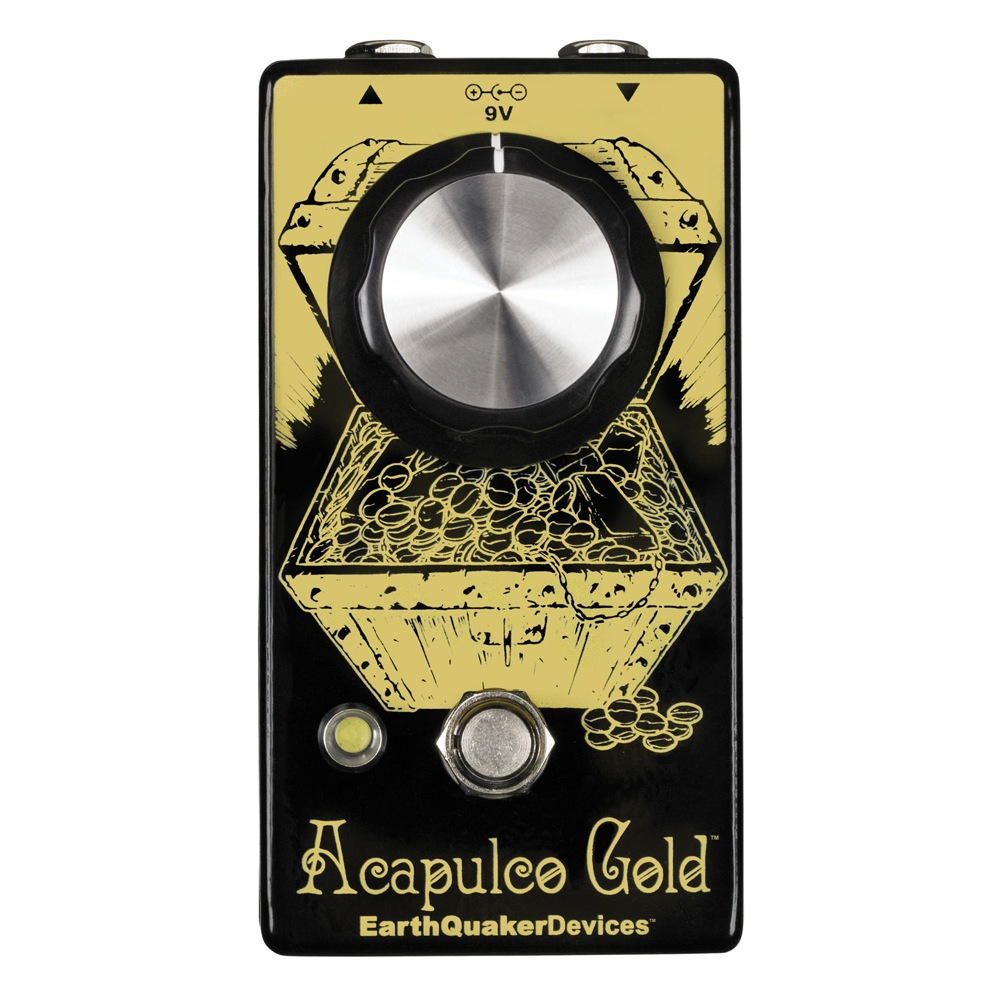 EarthQuaker Devices Acapulco Gold パワーアンプディストーション ギターエフェクター