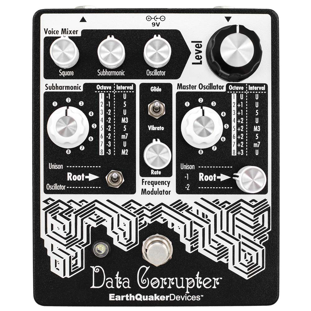EarthQuaker Devices Data Corrupter ハーモナイザー ギターエフェクター