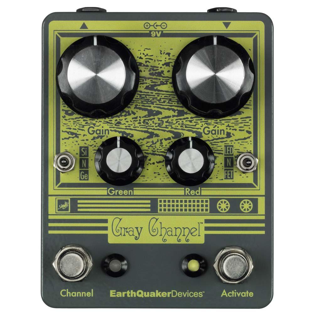EarthQuaker Devices Gray Channel オーバードライブ ギターエフェクター