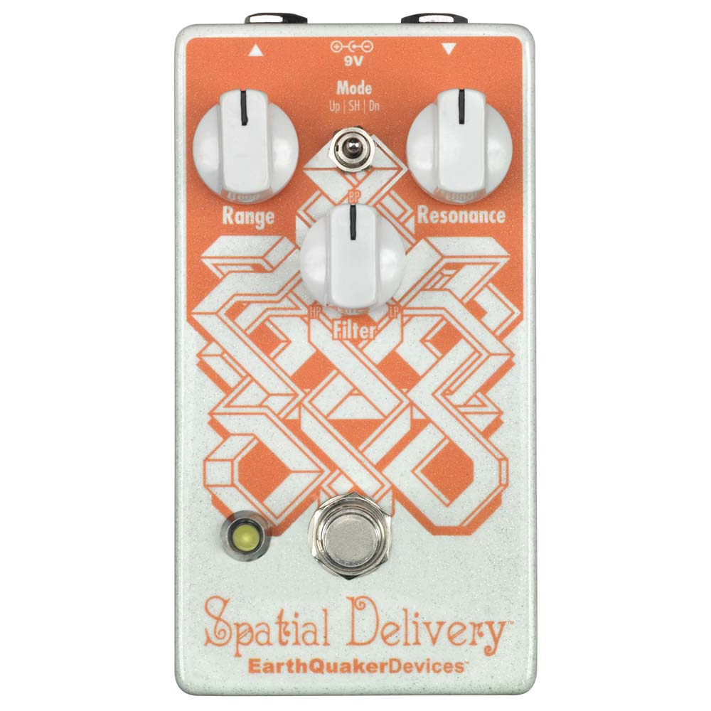 EarthQuaker Devices Spatial Delivery フィルター ギターエフェクター