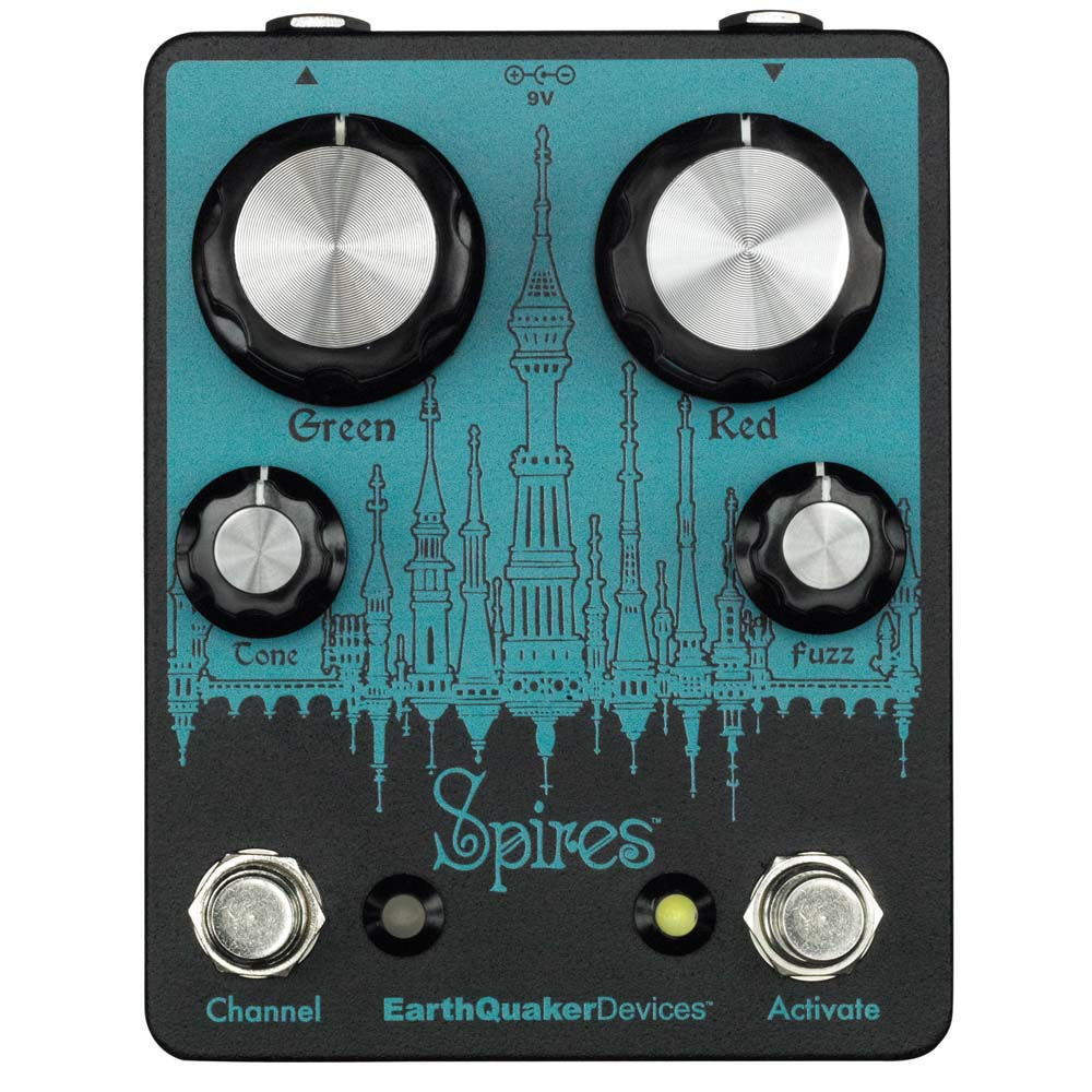 EarthQuaker Devices Spires ファズ ギターエフェクター