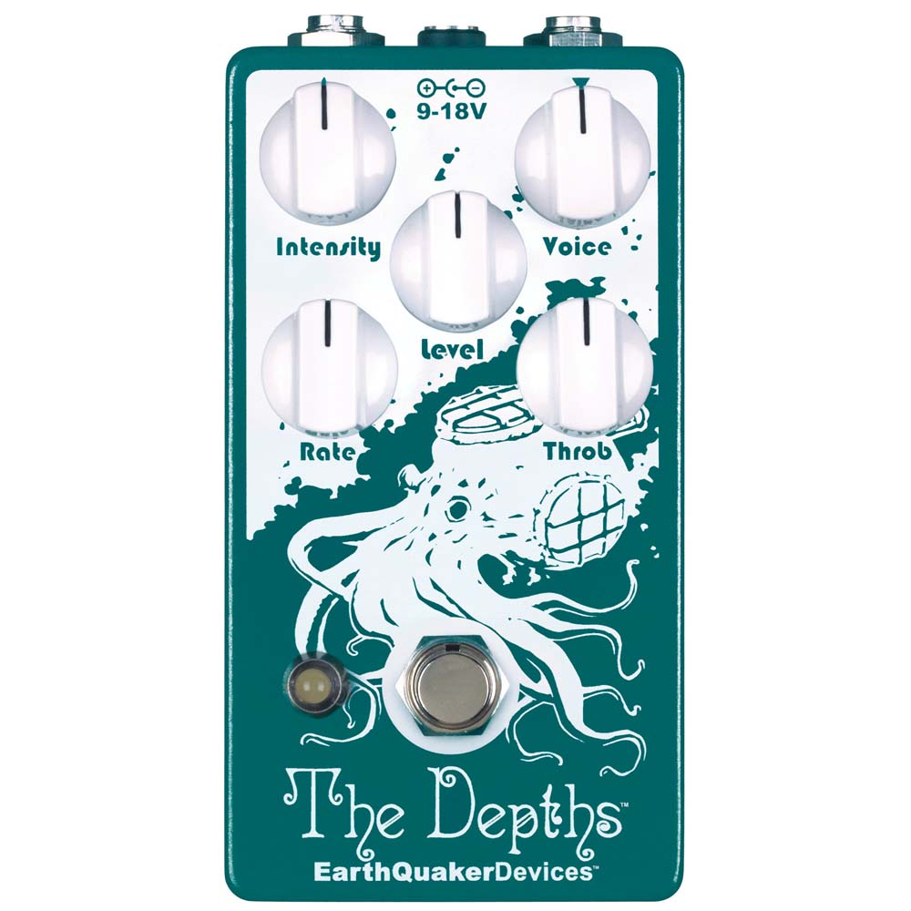 EarthQuaker Devices The Depths バイブ ギターエフェクター