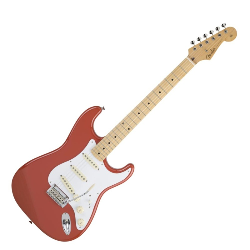 Fender Made in Japan Hybrid 50s Stratocaster Maple Fiesta Red エレキギター