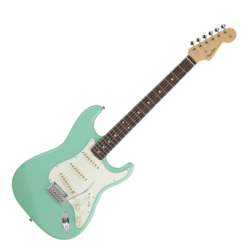 Fender Made in Japan Hybrid 60s Stratocaster Rosewood Sherwood Surf Green エレキギター