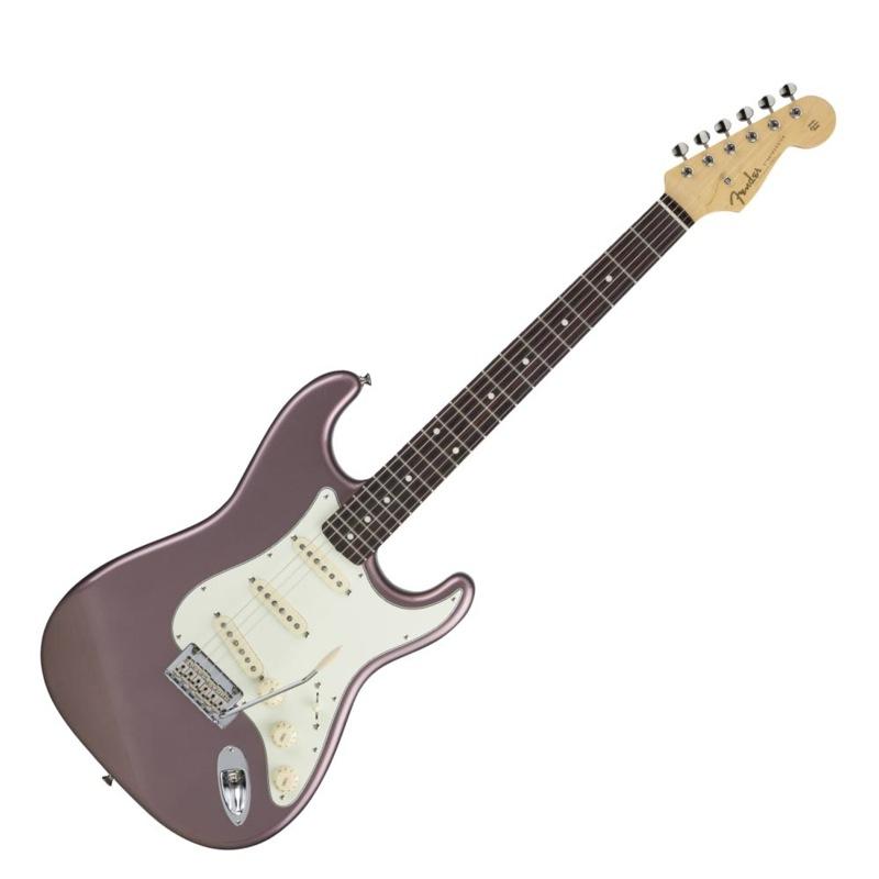 ●日本正規品● Fender Made in Japan Hybrid 60s Stratocaster Rosewood Burgundy Mist Metallic エレキギター, 明りと香り本舗 c0261f7f