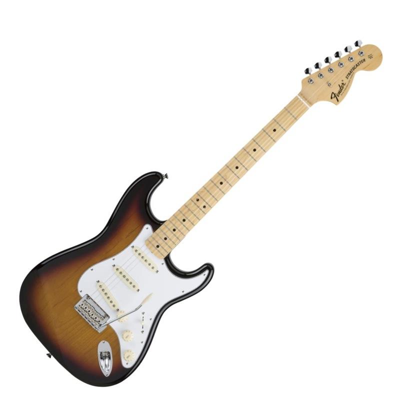 Fender Made in Japan Hybrid 68 Stratocaster Maple 3-Color Sunburst エレキギター