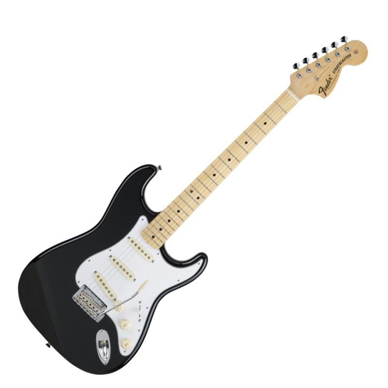 【送料無料】 Fender Made in Japan Hybrid Black Made 68 Stratocaster Maple 68 Black エレキギター, CASSETTE PUNCH:29a5da0c --- plateau.ru