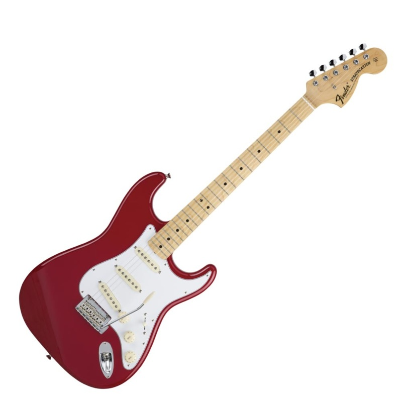 Fender Made in Japan Hybrid 68 Stratocaster Maple Torino Red エレキギター