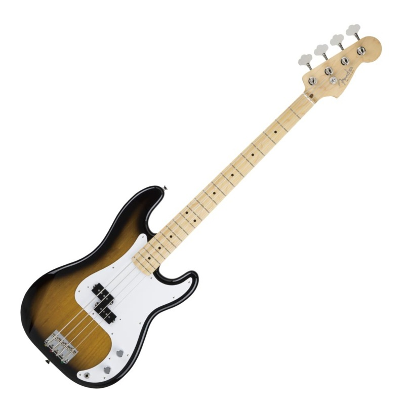Fender Made in Japan Hybrid 50s Precision Bass Maple 2-Color Sunburst エレキベース