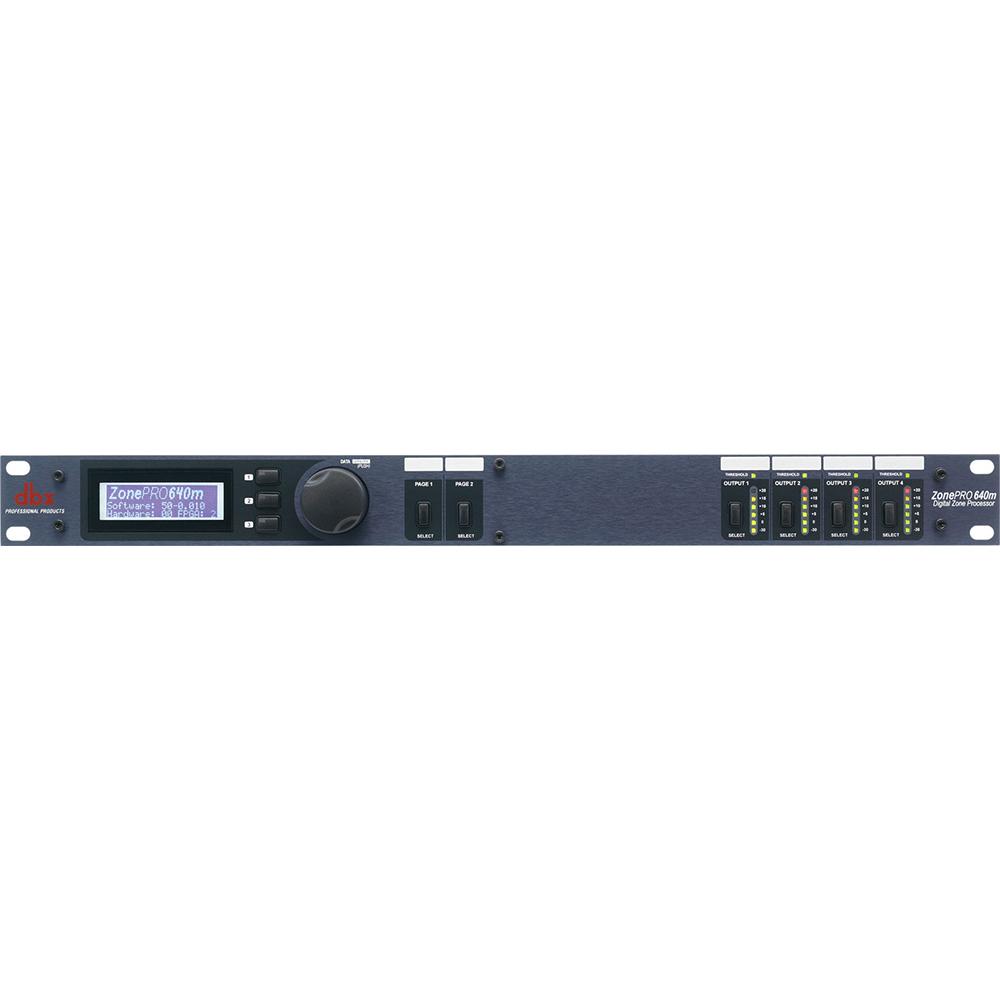 dbx ZonePRO 640m マルチプロセッサー