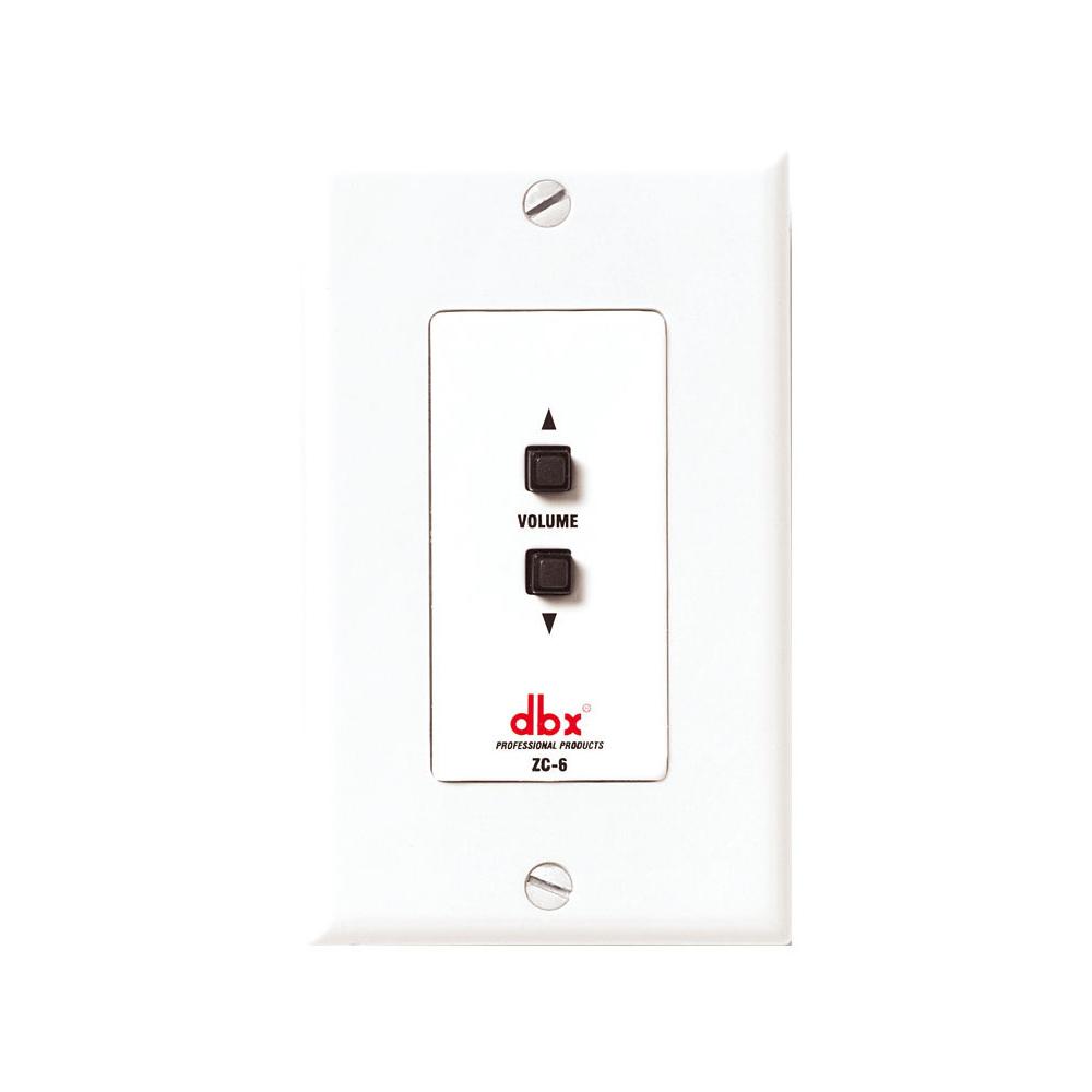 dbx ZC-6 壁面取付パネル型リモートコントローラー