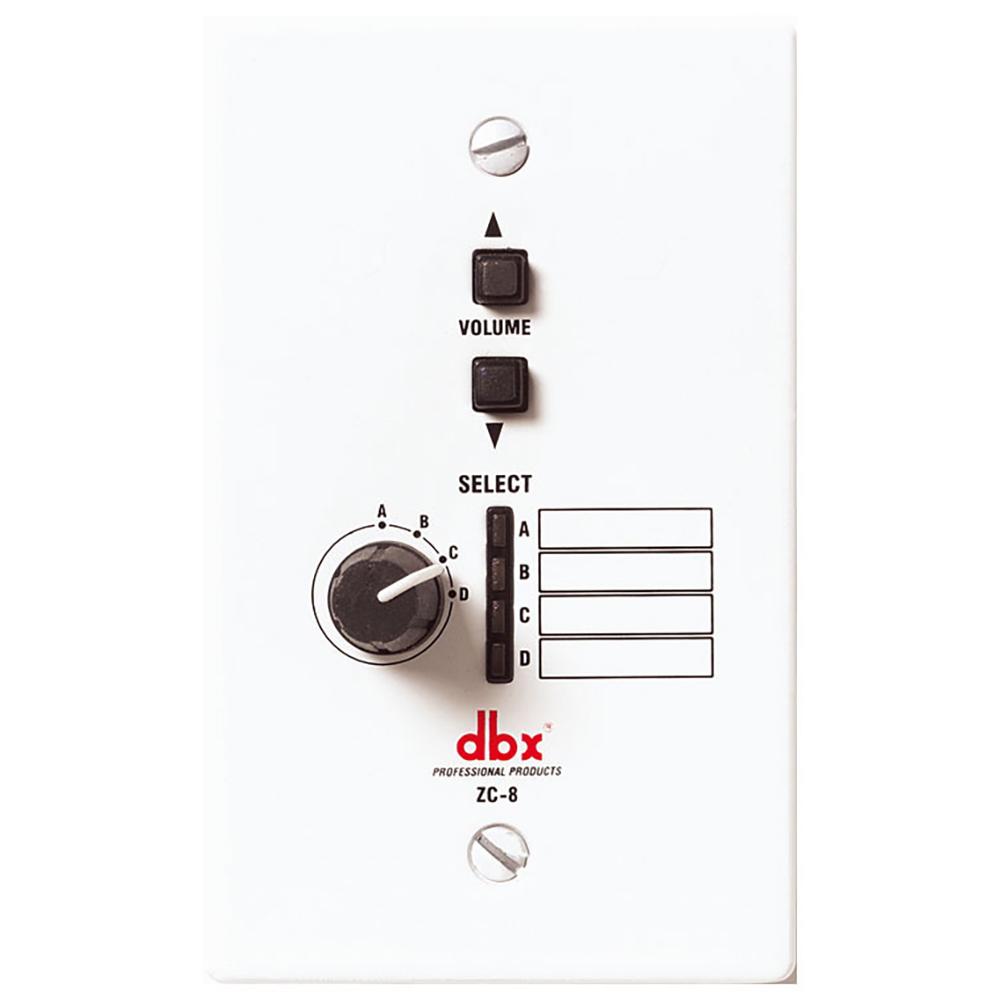 dbx ZC-8 壁面取付パネル型リモートコントローラー