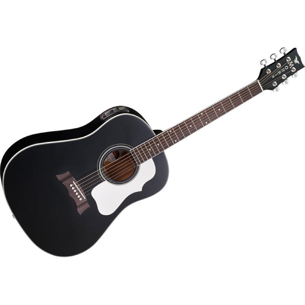 MORRIS G-401 BLK エレクトリックアコースティックギター