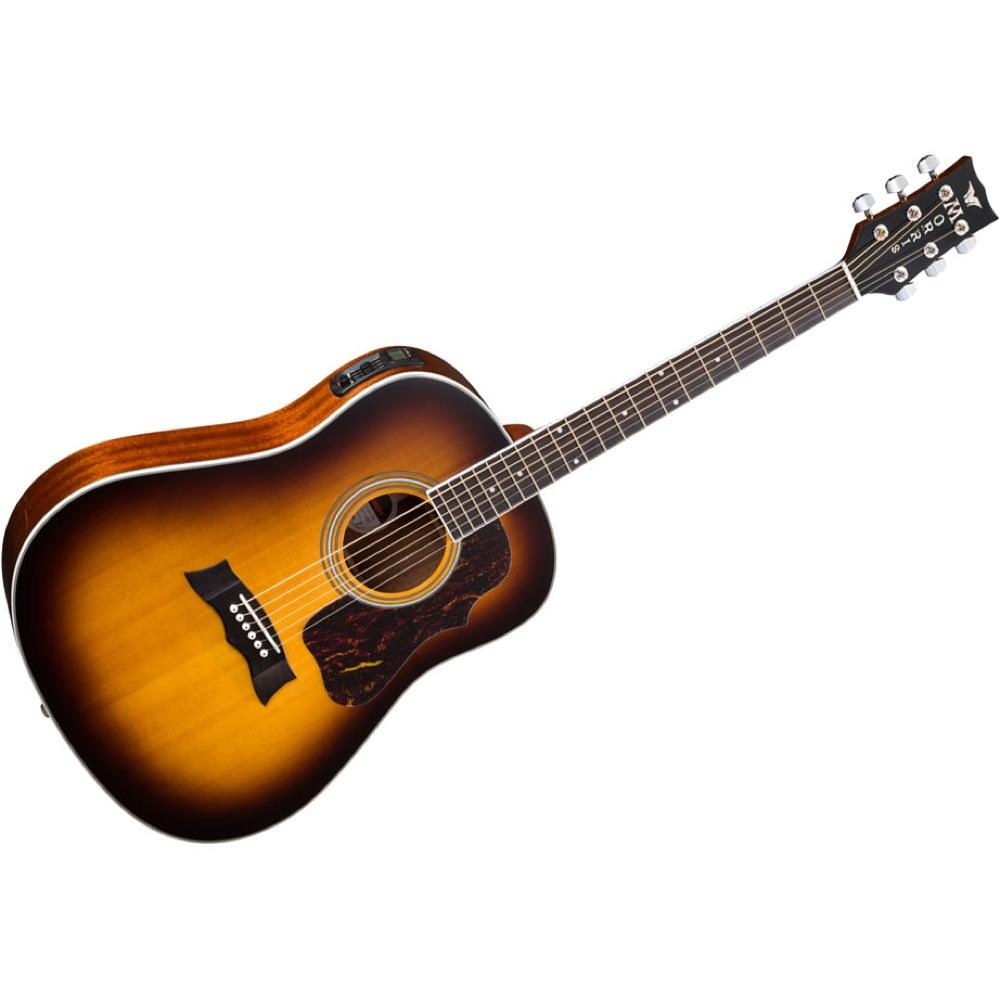 MORRIS G-401 TS エレクトリックアコースティックギター
