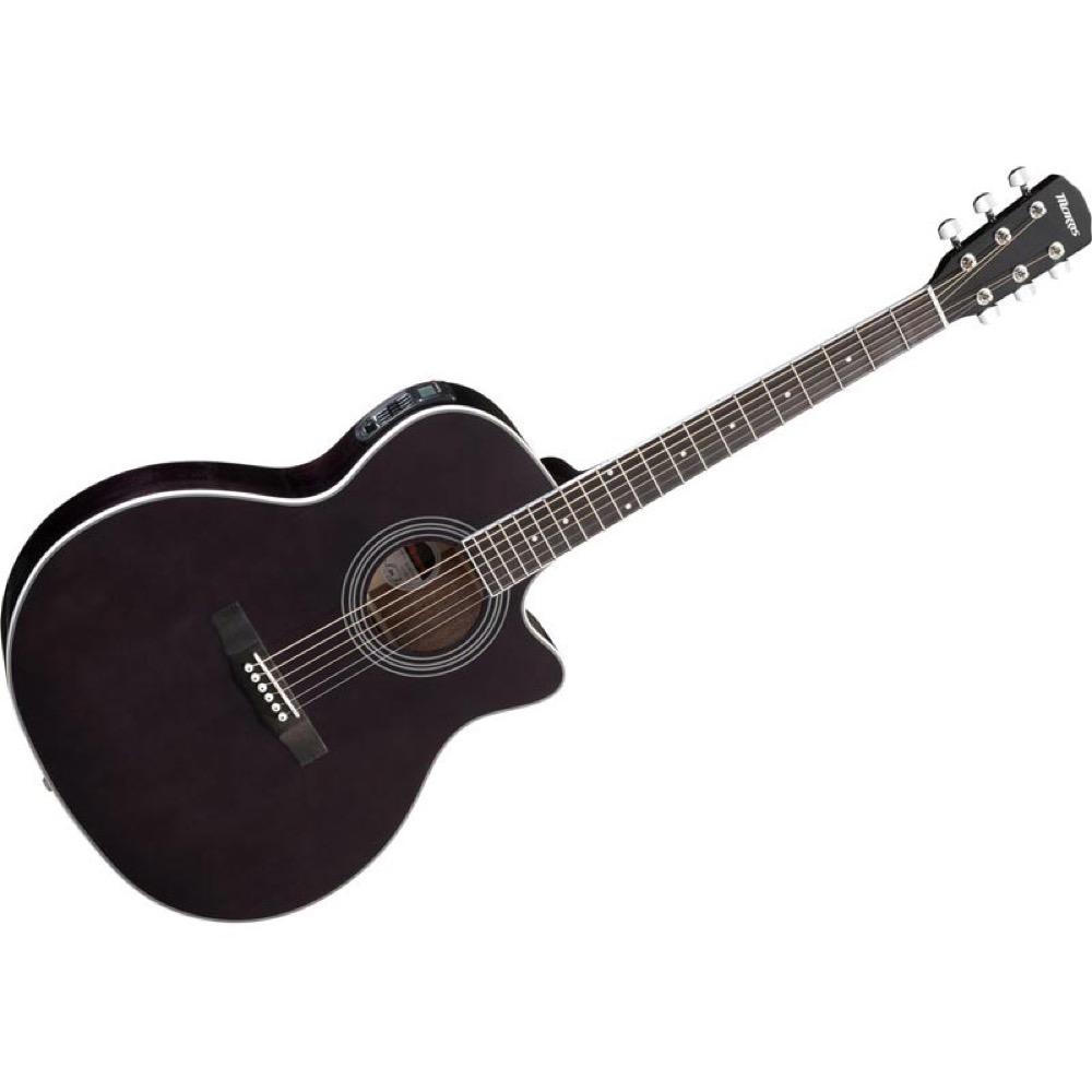 MORRIS R-401 SBK エレクトリックアコースティックギター