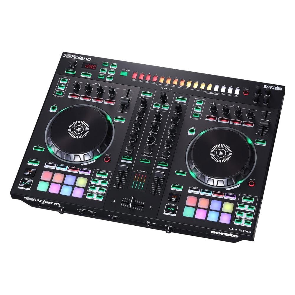 ROLAND AIRA DJ-505 DJコントローラー Serato DJ専用コントローラー Serato DJライセンス付き