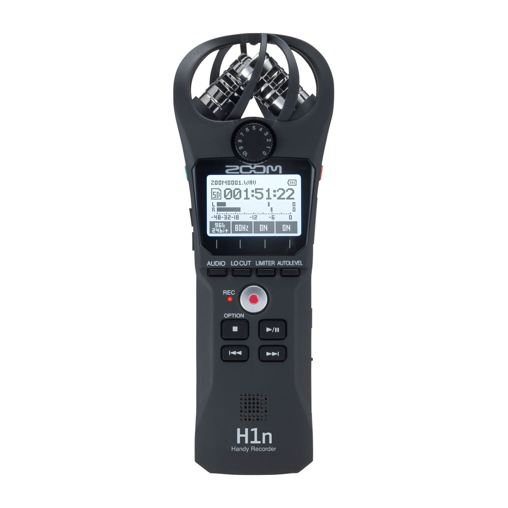 ZOOM H1n Handy Recorder ハンディーレコーダー