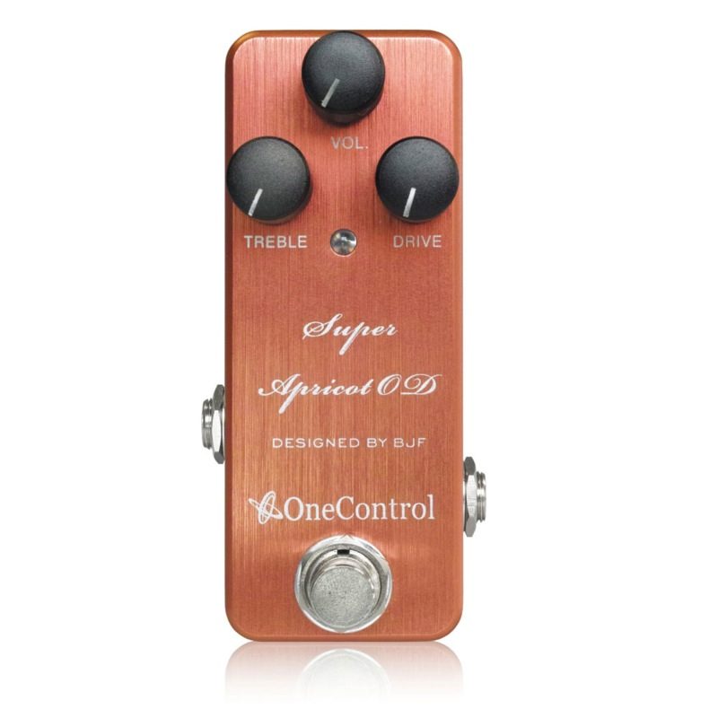One Control Super Apricot OD オーバードライブ ギターエフェクター