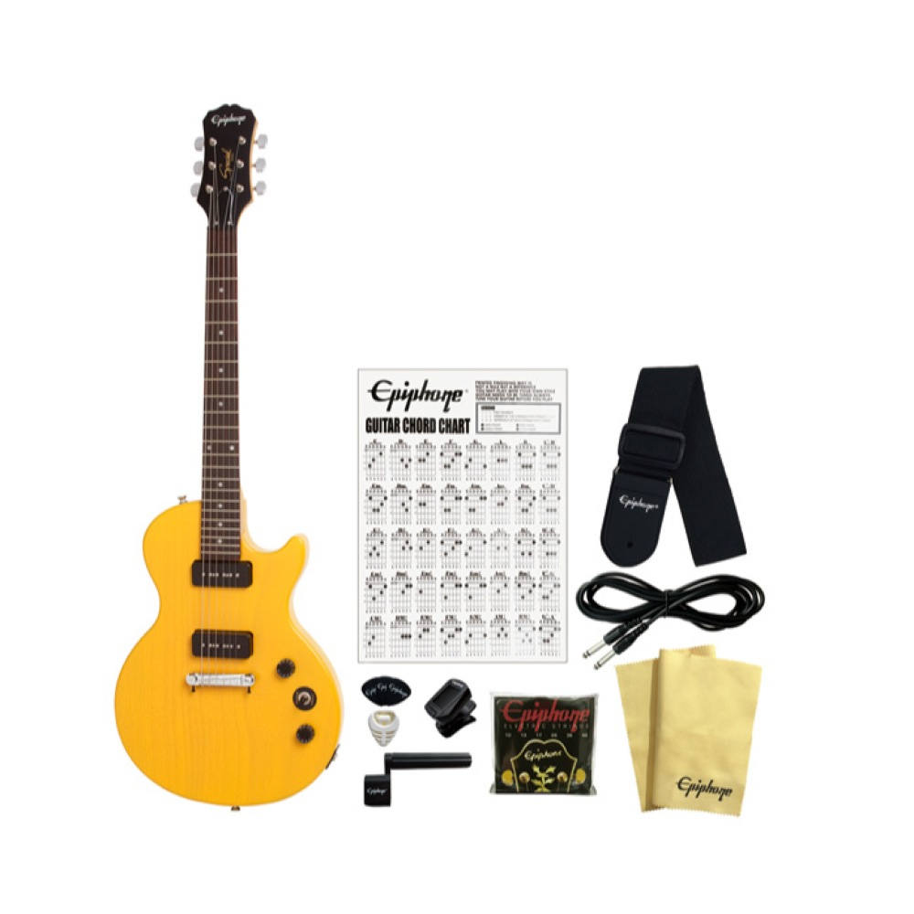Epiphone Les Paul Special I P-90 Limited Edition WT エレキギター アクセサリーセット付き