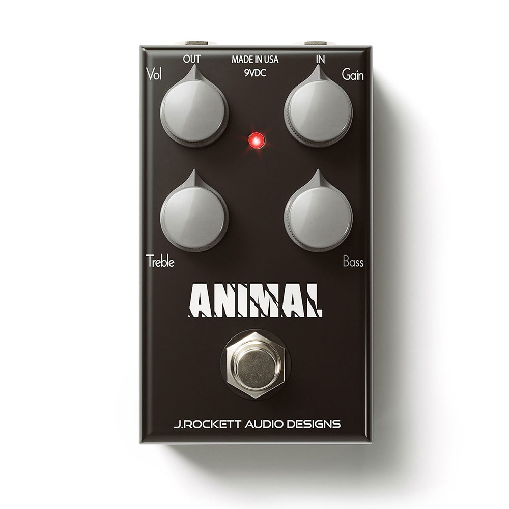 J Rockett Audio Designs (JRAD) ANIMAL OD オーバードライブ ギターエフェクター