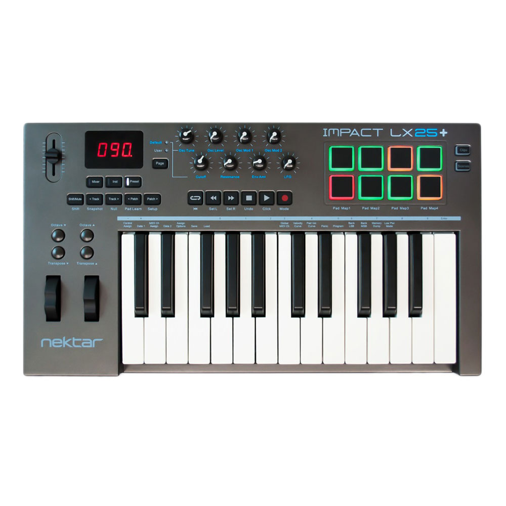 Nektar Technology Impact LX25+ 25鍵 USB MIDI コントローラー
