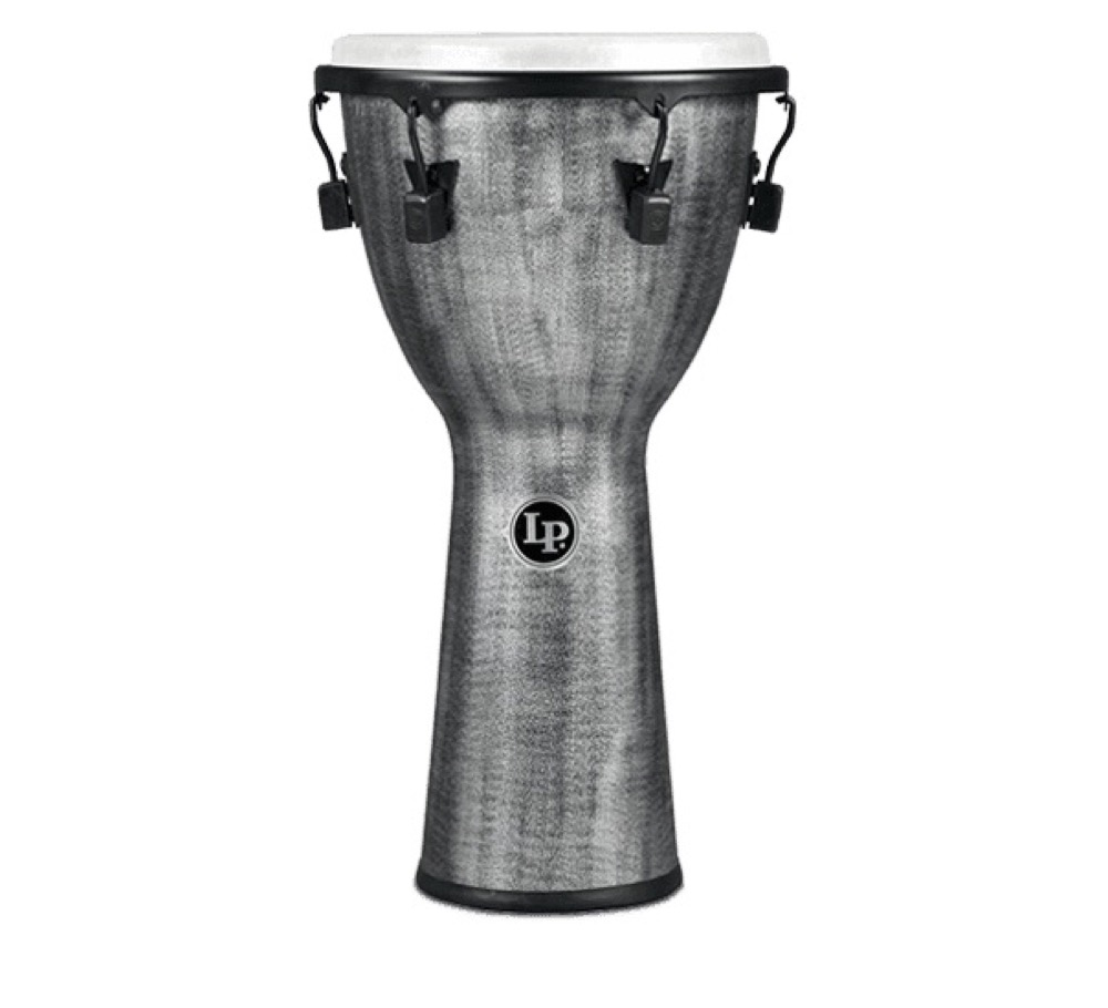 "LP LP727G World Beat FX Mechanical Djembe 12.5"" Gray ジャンベ"