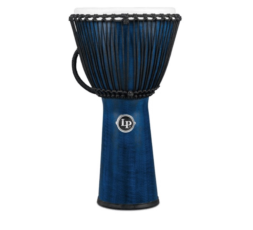 "LP LP725B World Beat FX Rope Djembe 12.5"" Blue ジャンベ"
