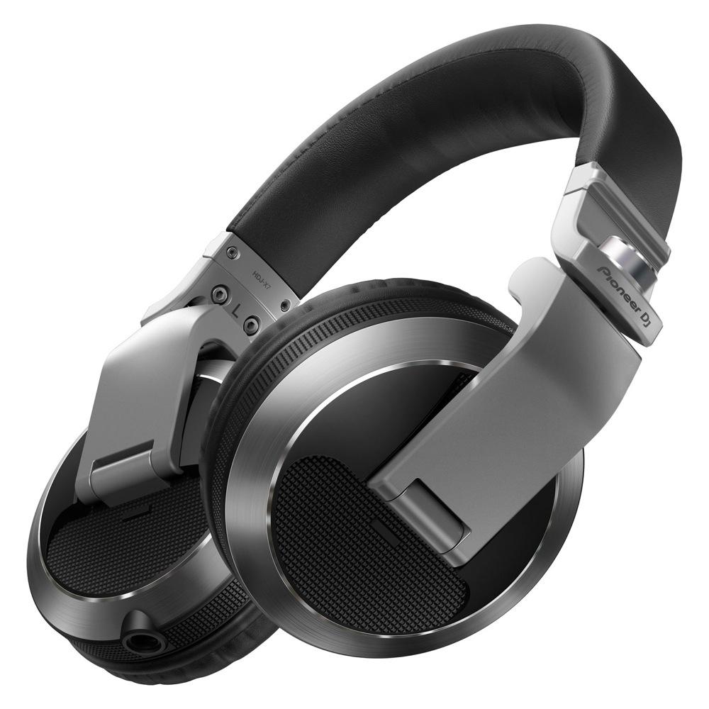 Silver Pioneer DJヘッドホン HDJ-X7-S