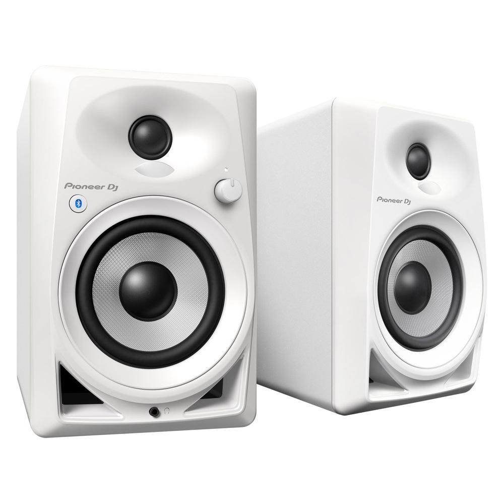 Pioneer DM-40BT-W White Bluetooth搭載 パワードモニタースピーカー 1ペア(2台)