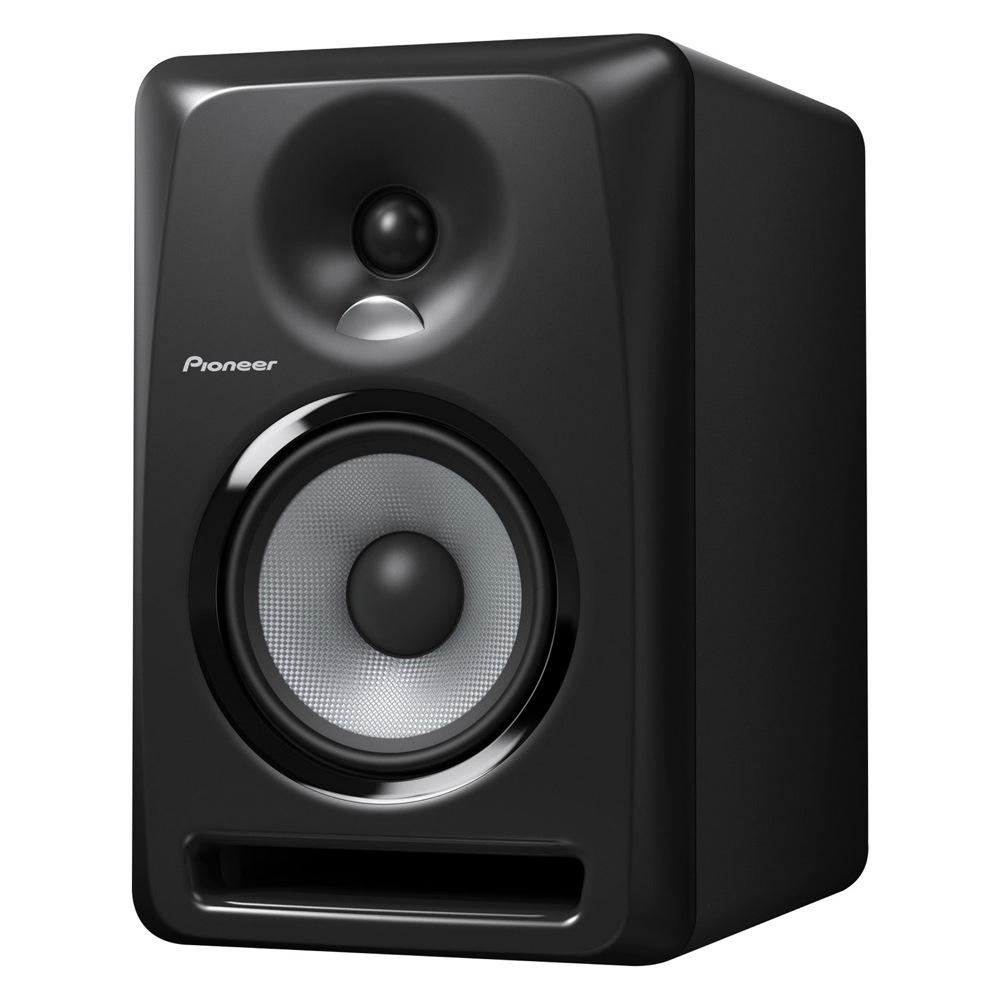パワードモニタースピーカー S-DJ50X Pioneer 1台 Black