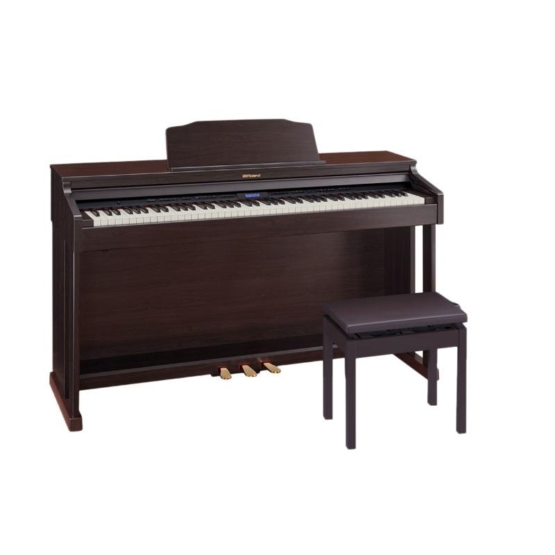 ROLAND HP601-CRS クラシックローズウッド調仕上げ 電子ピアノ 高低自在椅子付き【組立設置無料サービス中】