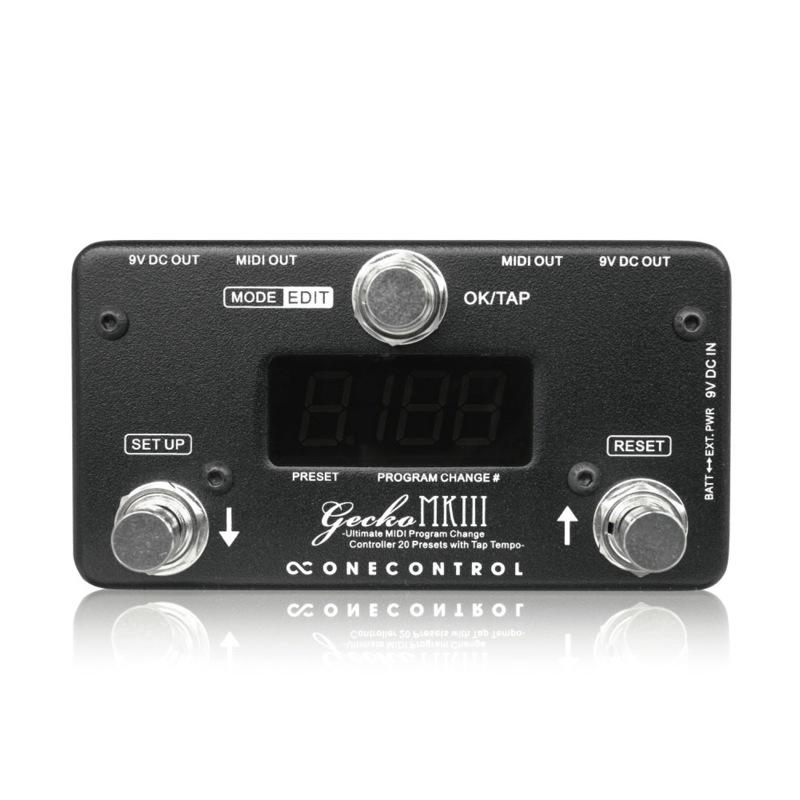 One Control Gecko mkIII MIDIコントローラー