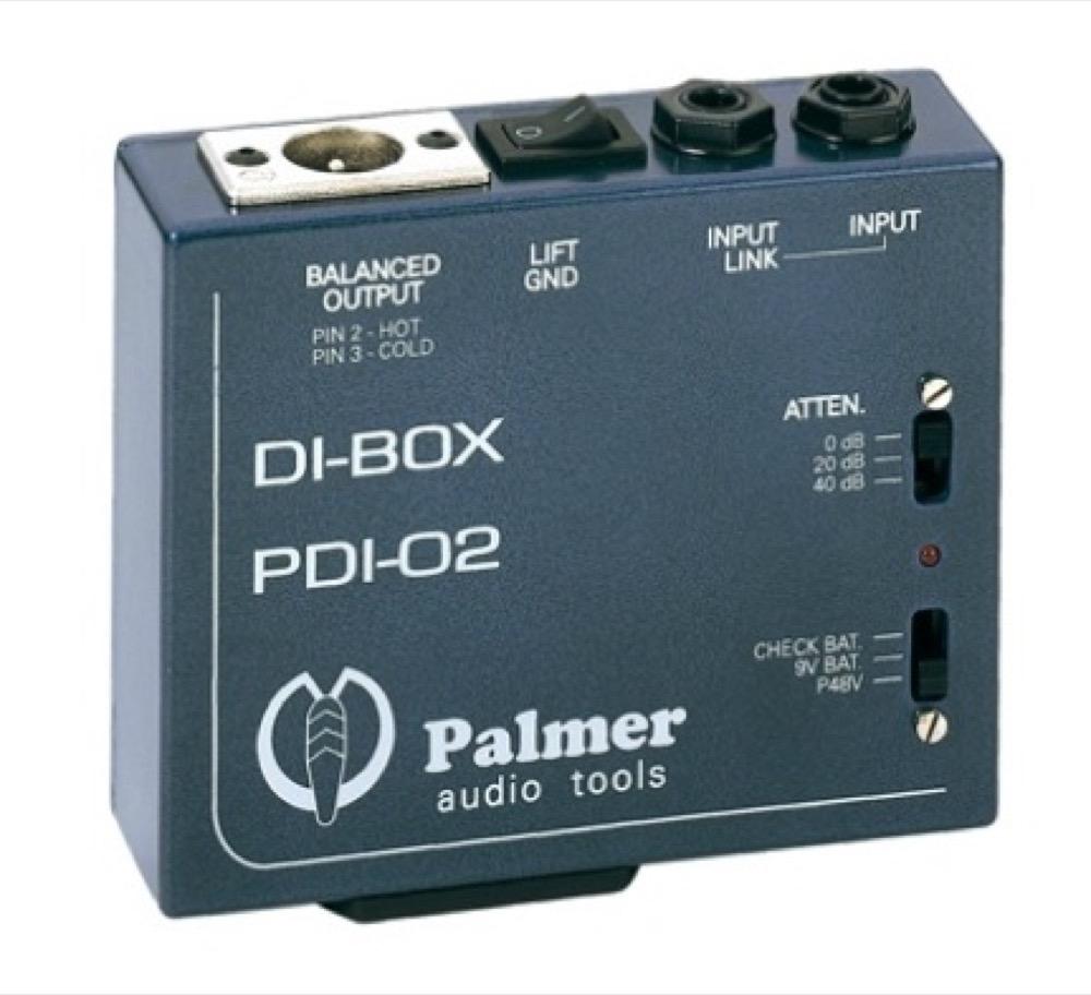 PALMER PDI-02 Active DI ダイレクトボックス